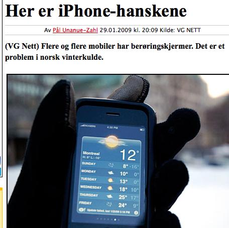 iPhonehanske