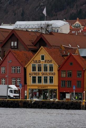 Bryggen i Bergen