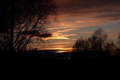 Solnedgang