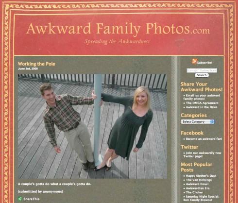 Merkelige familiebilder