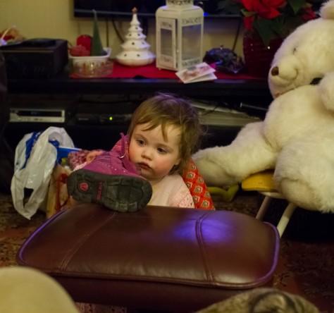 Jenny og isbjørnbamsen