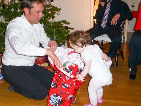 Julaften hos Rebekka og Ronny