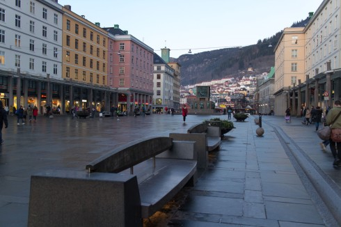 Fra Bergen sentrum