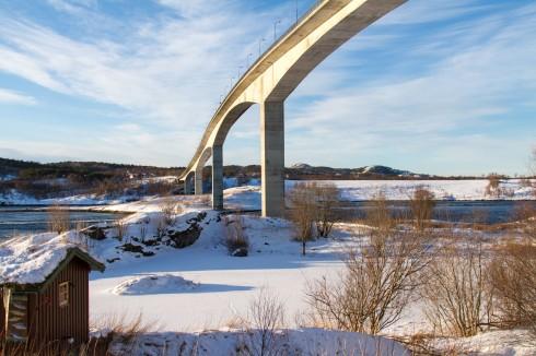 Kjørte tur til Saltstraumen i dag