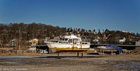 Bilder fra Halden havn