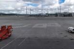 Fra den nye terminalen på Gardermoen
