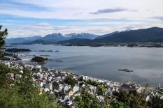 Utsikt over Ålesund
