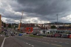 Tunge skyer over Oslo