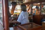 Vi er på båttur med Big Baba hvor Rifat jobber.