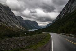 Bildene er tatt på veien til bremuseet i Sogndal kommune.