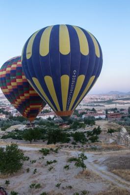 Ballooning in Göreme