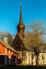 Fra Alstadhaug hvor Petter Dass virket en gang i tiden