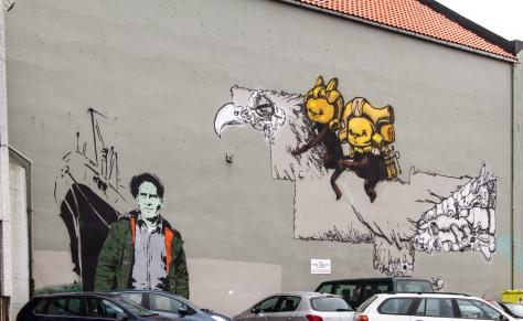 Veggkunst i Stavanger