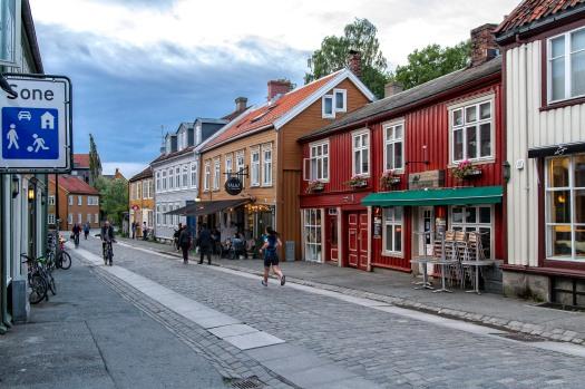 Kveldstur i Trondheim