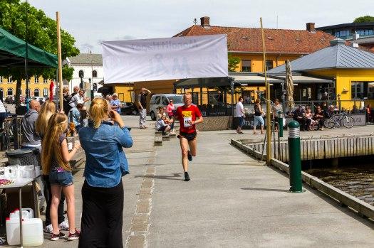 Monolittløpet i Halden med målgang på havna