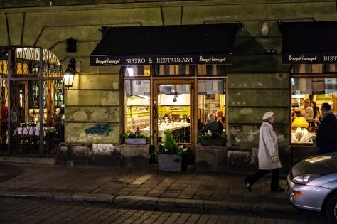 Vi er i Polen og feirer Stines 60-årsdag med Karin og Tor
