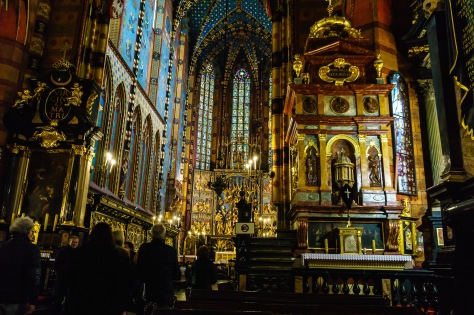 Stine og jeg besøker Mariakirken