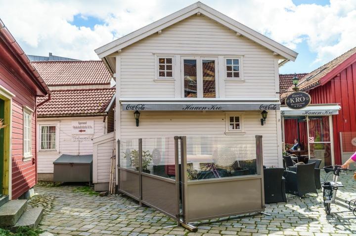 Stine og jeg ruslet en tur i Egersund sentrum