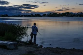 Fisking på kveldstid