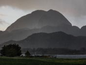 Regnvær i Brønnøysund