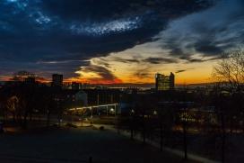Utsikt fra Tøyenparken