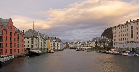 Jeg besøker Ålesund