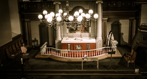 Barnedåp i Østsiden Kirke