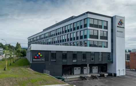 Nye Bibliotekenes Hus i Alf Bjerckesvei 20