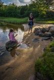 Kveldstur til Langholmen camping