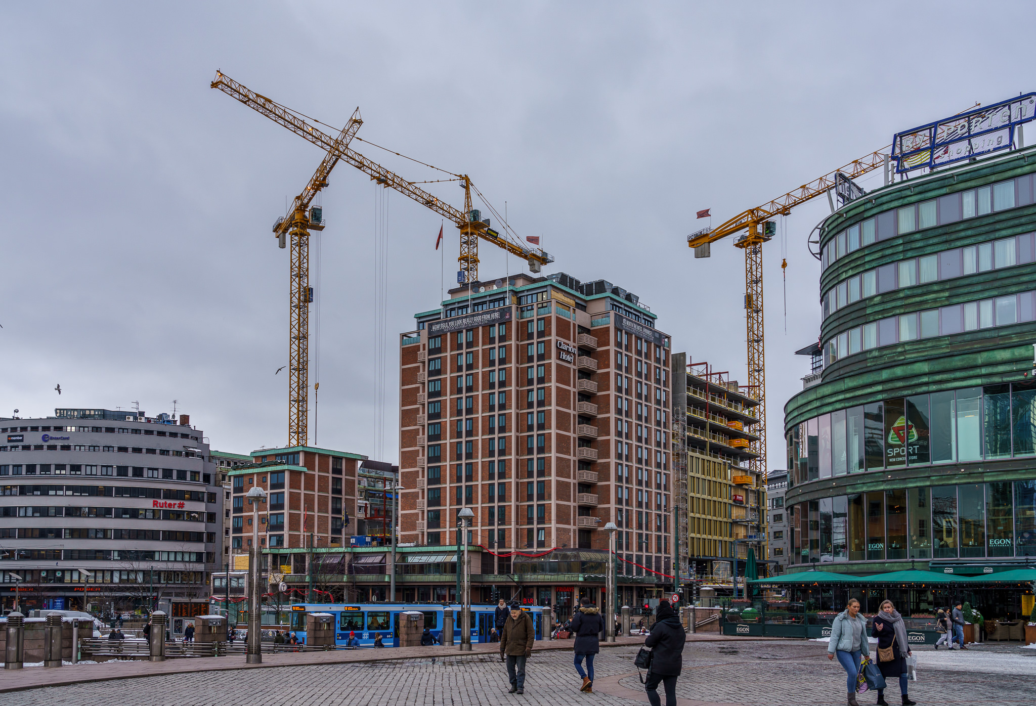 Diverse bilder fra Oslo S